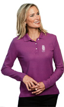 Tall Ships Ladies LS Polo